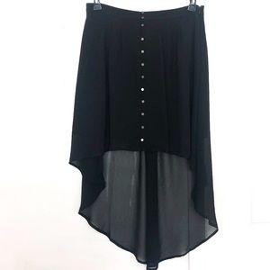 🆕 Forever 21 High-low Sheer Skirt